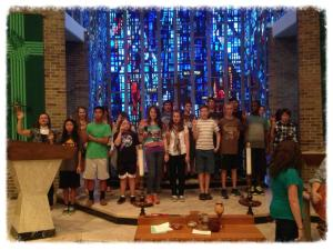 sending forth by confirmands